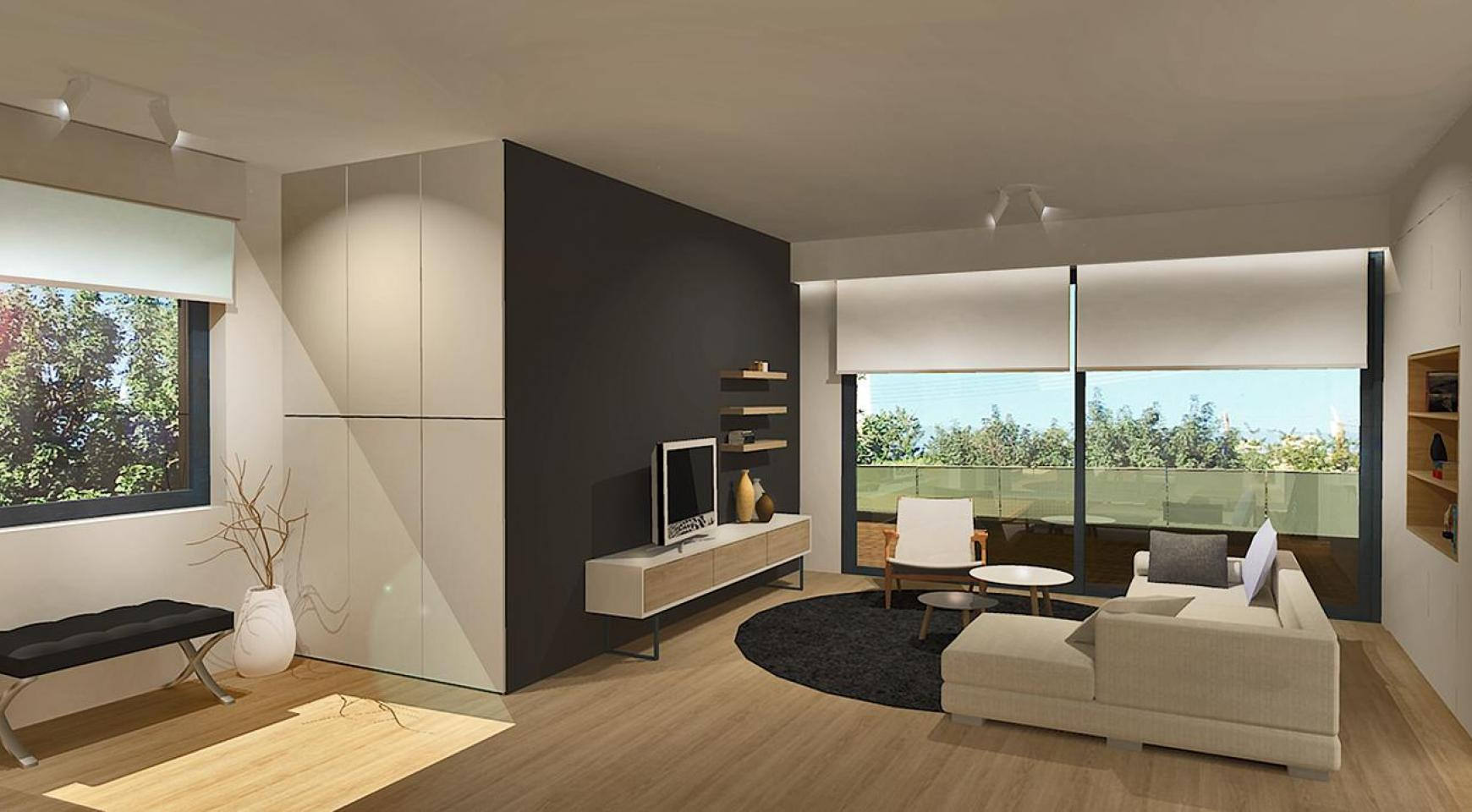 Modern 3 Bedroom Apartment in a New Complex in Agios Athanasios - 2