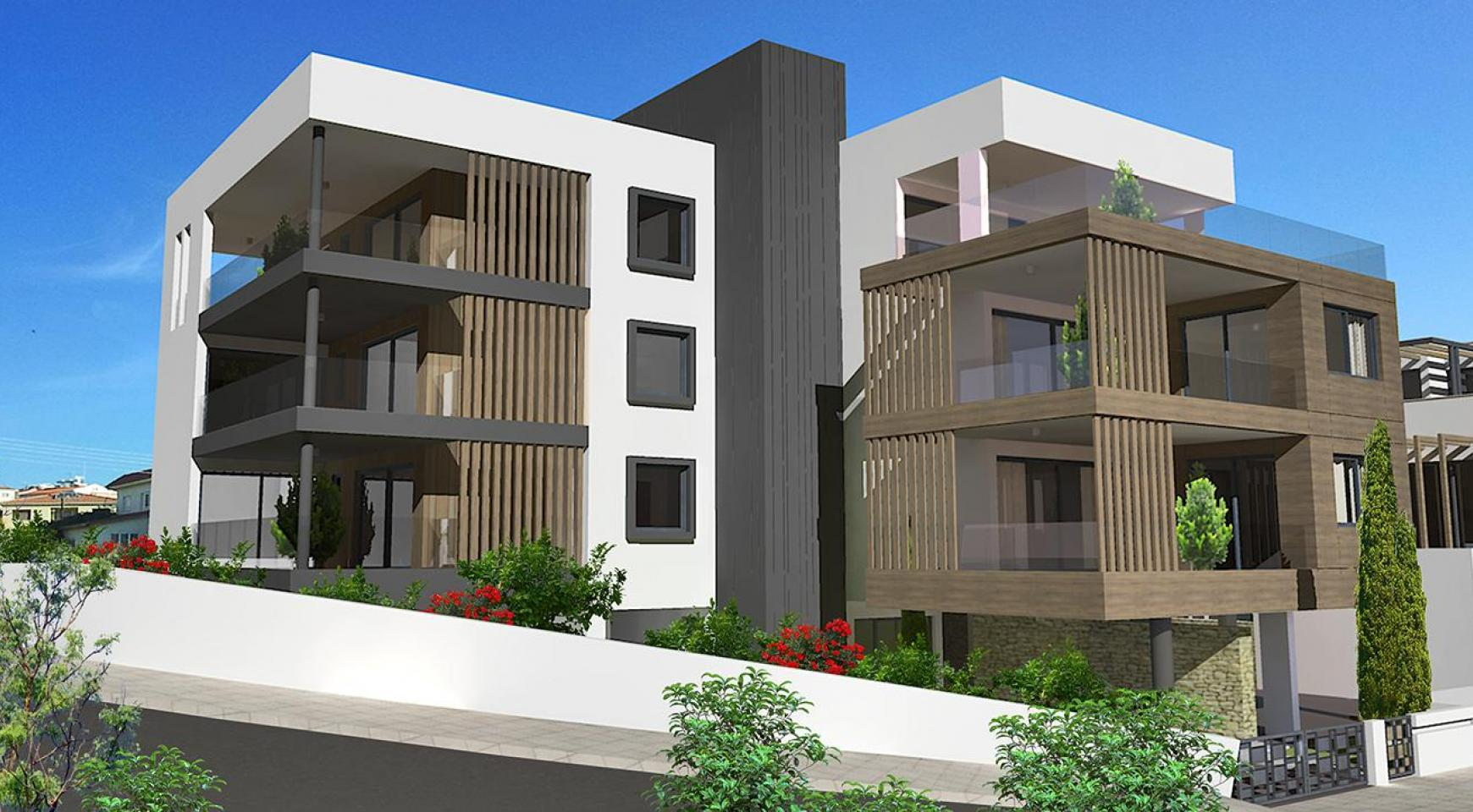 Modern 3 Bedroom Apartment in a New Complex in Agios Athanasios - 19