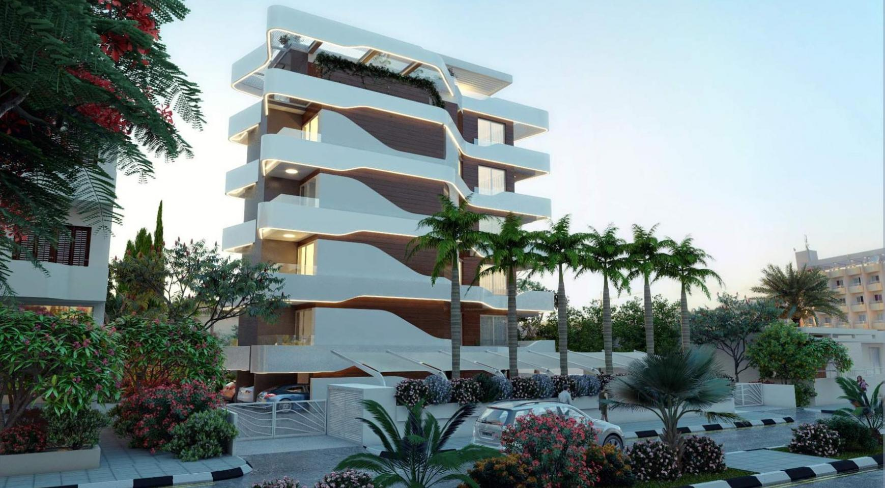 New 2 Bedroom Apartment in a Contemporary Complex near the Sea - 2