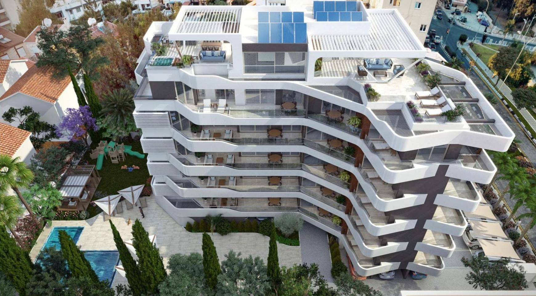 New 2 Bedroom Apartment in a Contemporary Complex near the Sea - 4