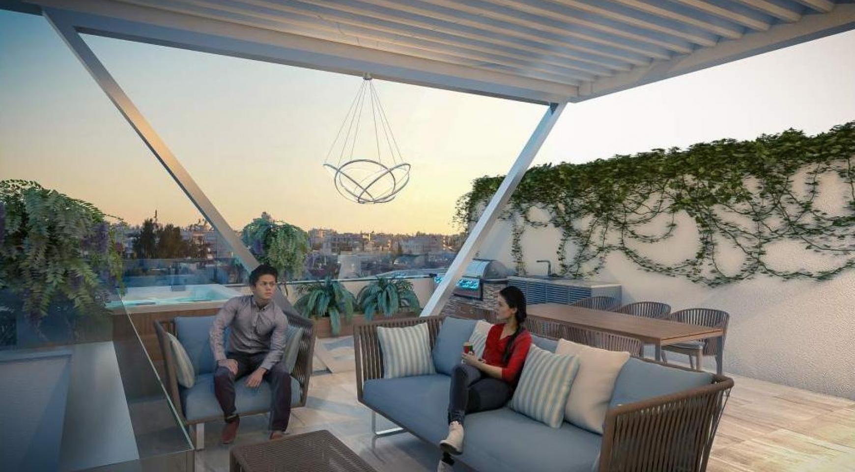 New 2 Bedroom Apartment in a Contemporary Complex near the Sea - 9