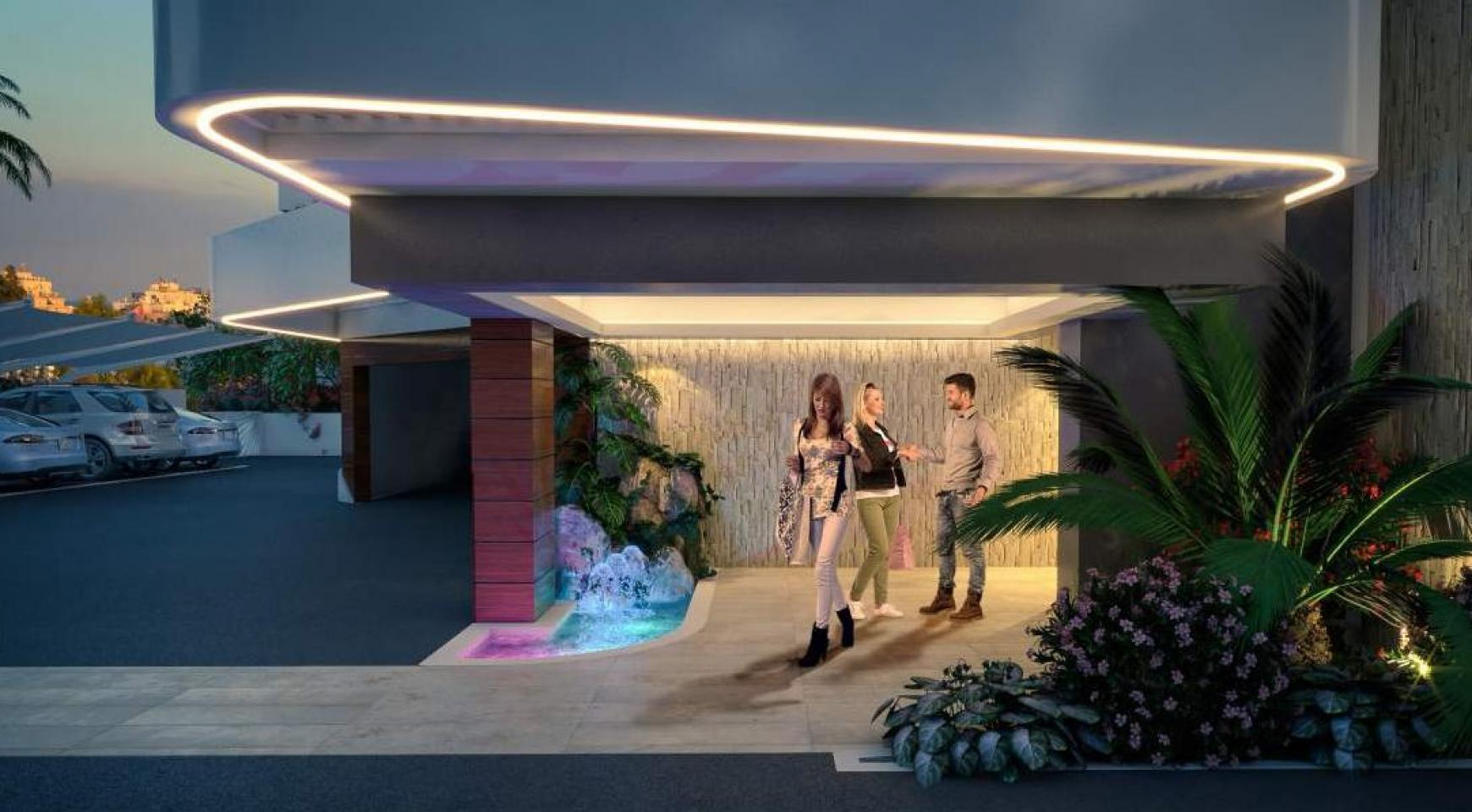 New 2 Bedroom Apartment in a Contemporary Complex near the Sea - 8