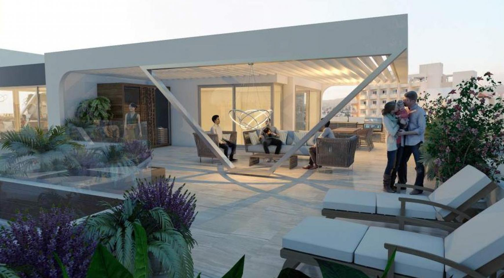 New 3 Bedroom Apartment in a Contemporary Complex near the Sea - 10