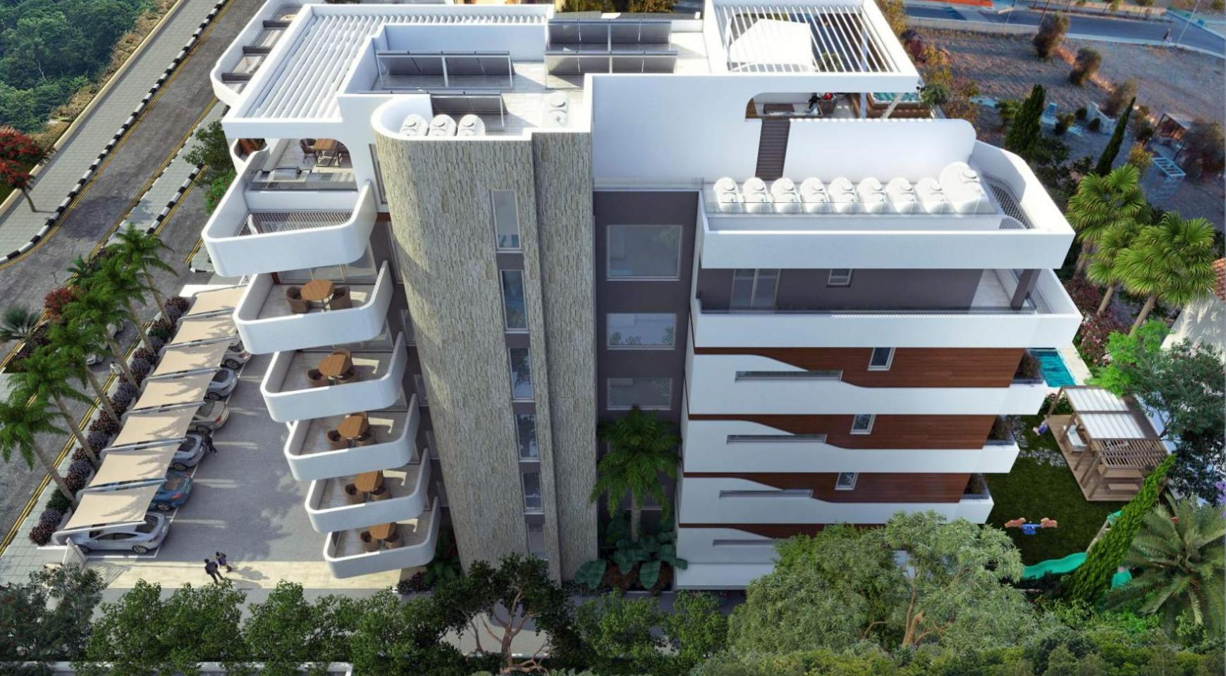 New 2 Bedroom Apartment in a Contemporary Complex near the Sea - 5