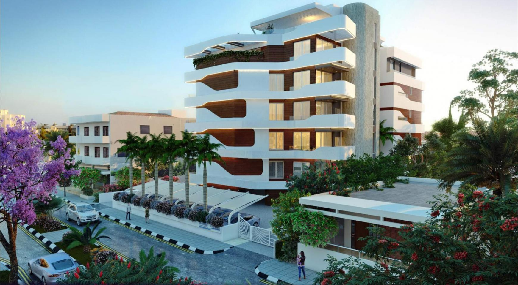 New 2 Bedroom Apartment in a Contemporary Complex near the Sea - 1