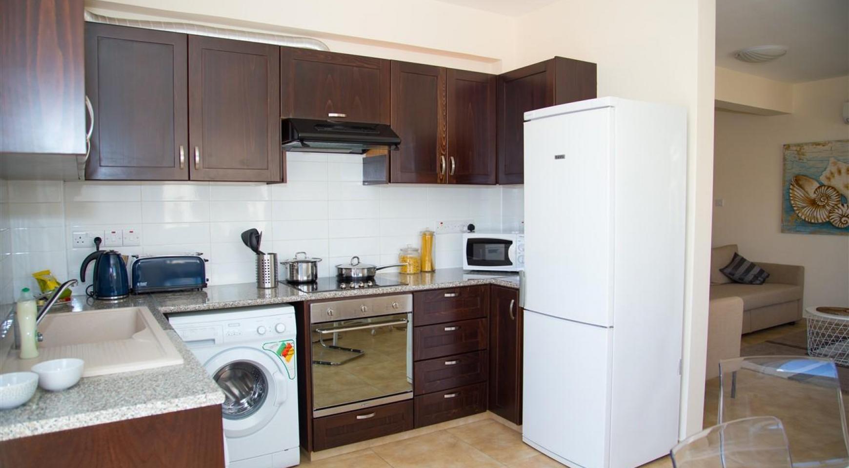 Frida Court. Cozy 2 Bedroom Apartment 101 in Potamos Germasogeia - 5