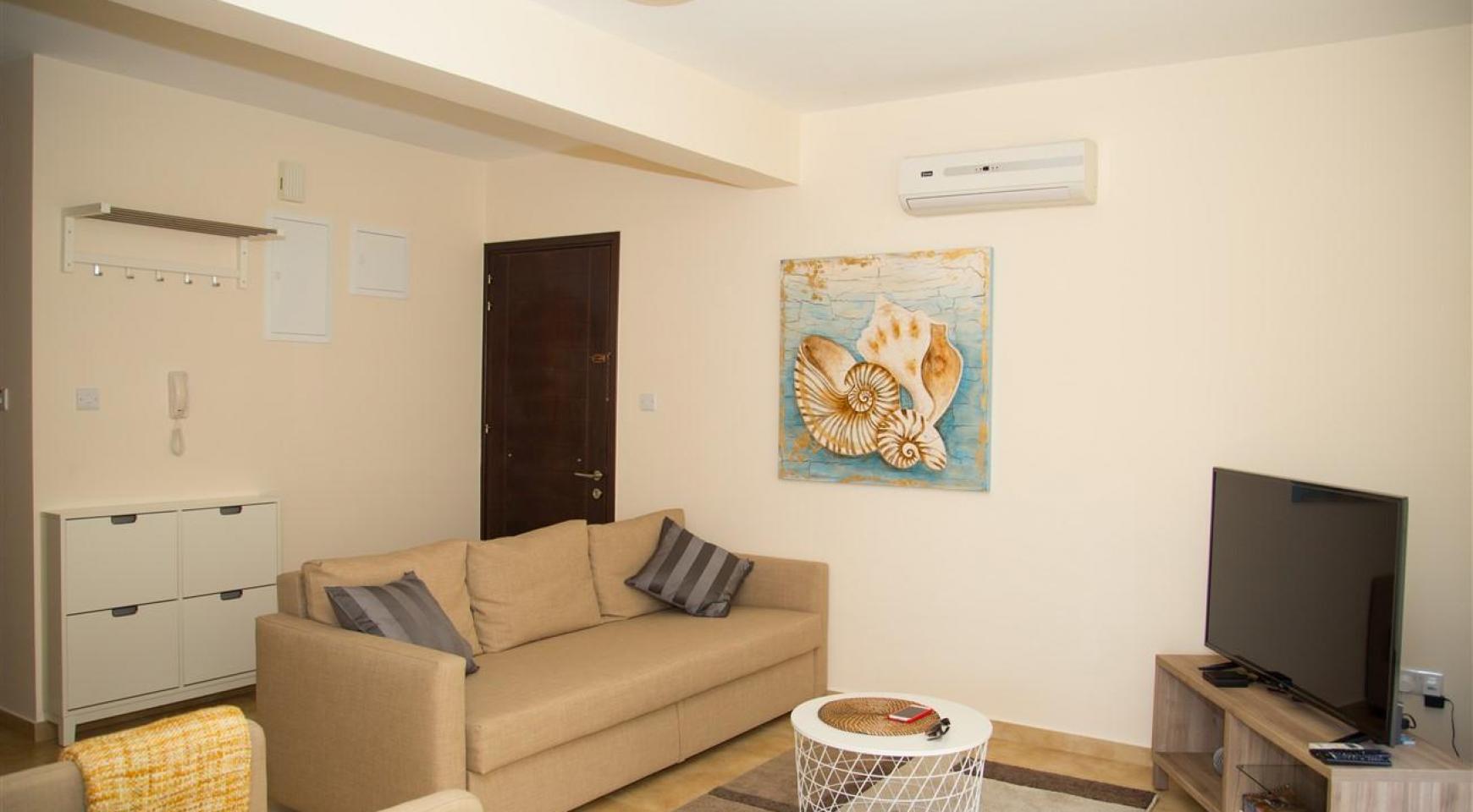 Frida Court. Cozy 2 Bedroom Apartment 101 in Potamos Germasogeia - 3