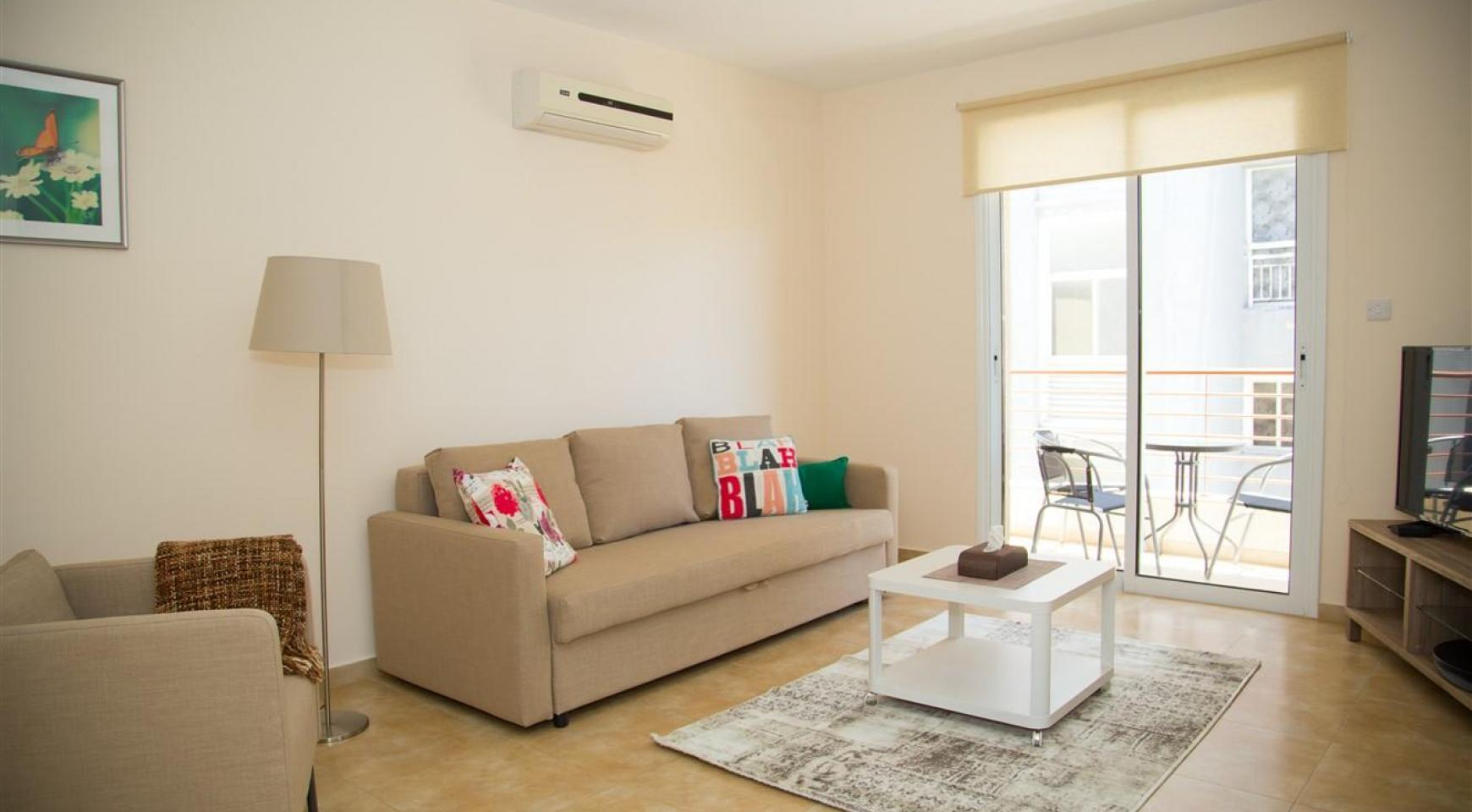 Frida Court. Cozy Spacious One Bedroom 103 Apartment in Potamos Germasogeia - 1