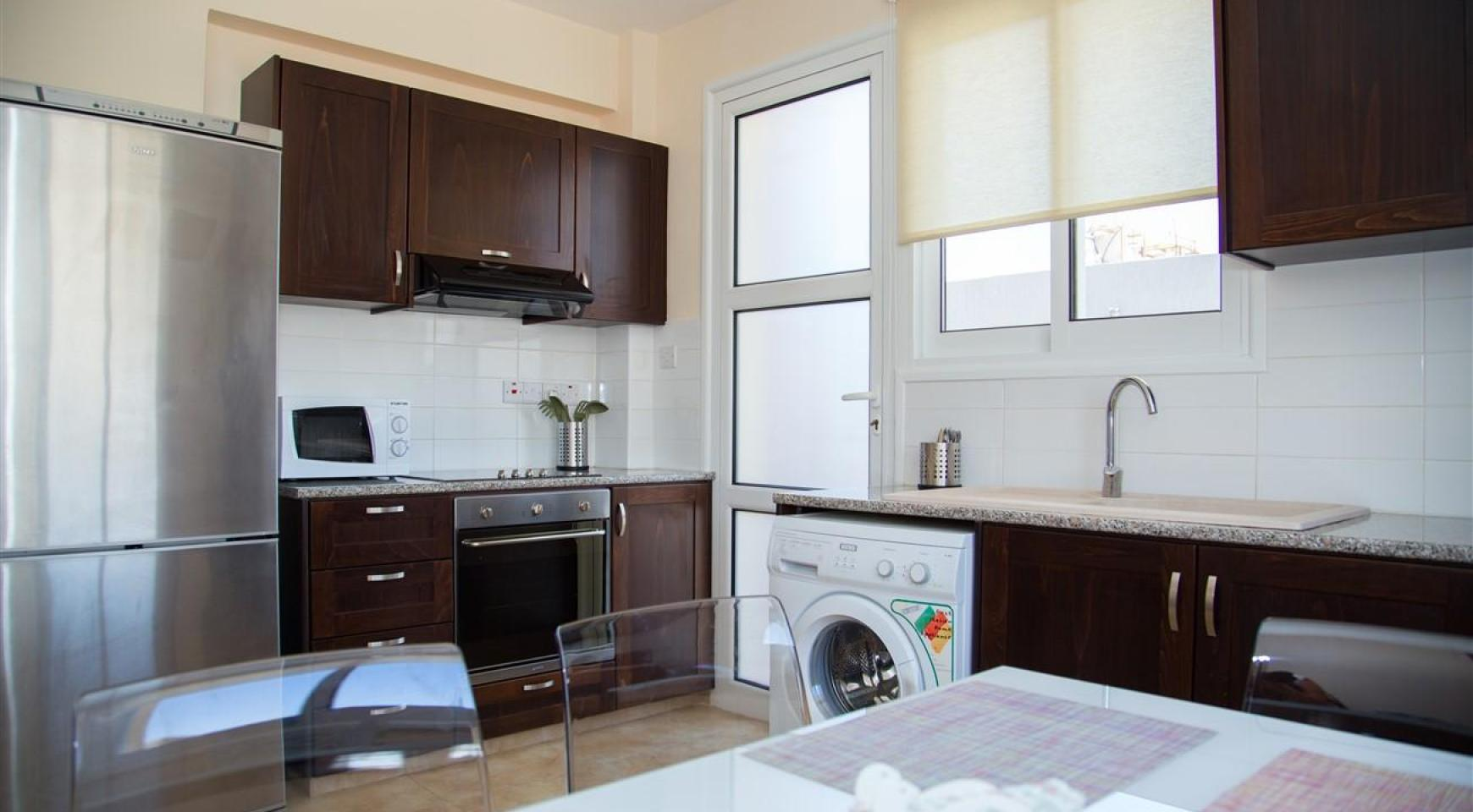 Frida Court. Cozy Spacious One Bedroom  Apartment 104 in Potamos Germasogeia - 6