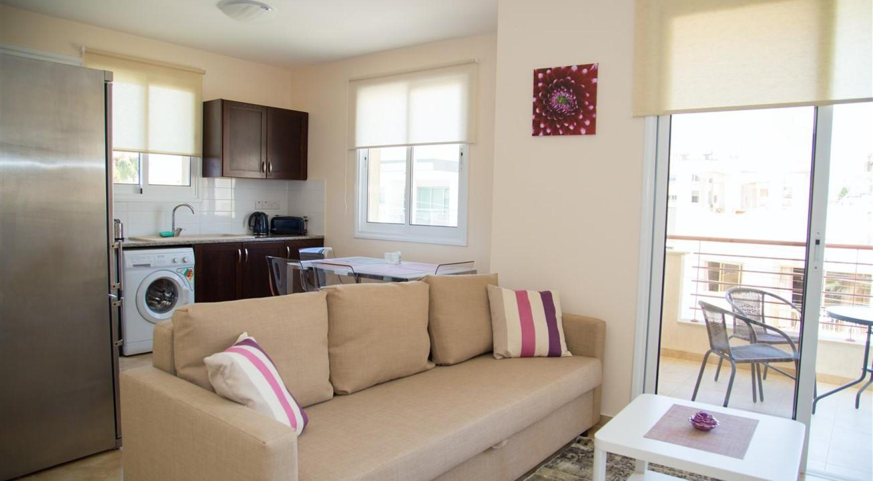 Frida Court. Cozy Spacious One Bedroom  Apartment 204 in Potamos Germasogeia - 1