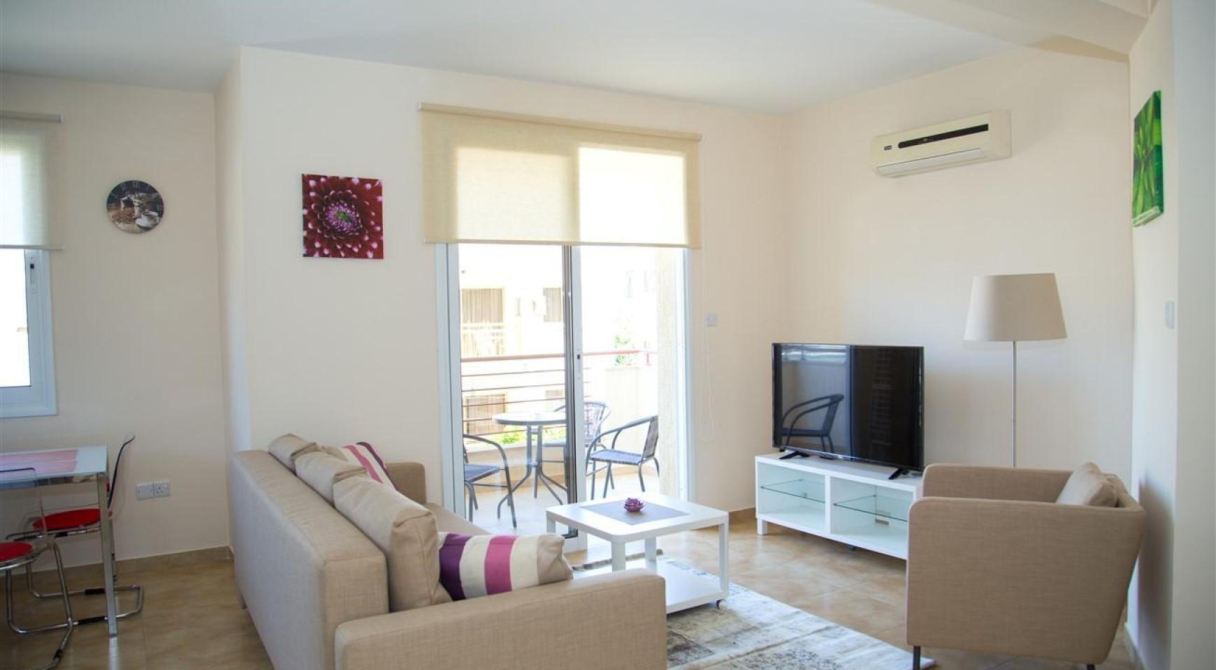 Frida Court. Cozy Spacious One Bedroom  Apartment 204 in Potamos Germasogeia - 2