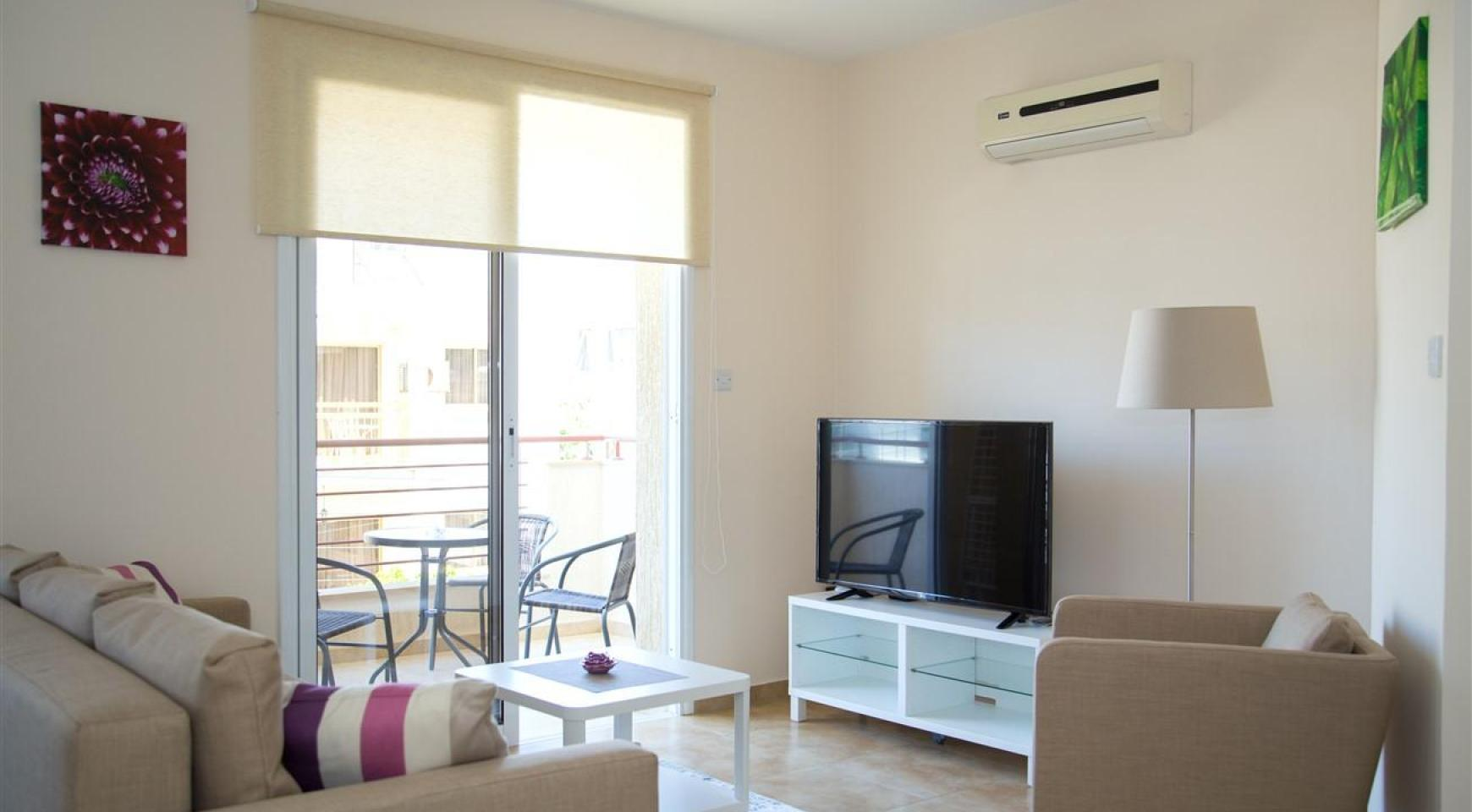 Frida Court. Cozy Spacious One Bedroom  Apartment 204 in Potamos Germasogeia - 3