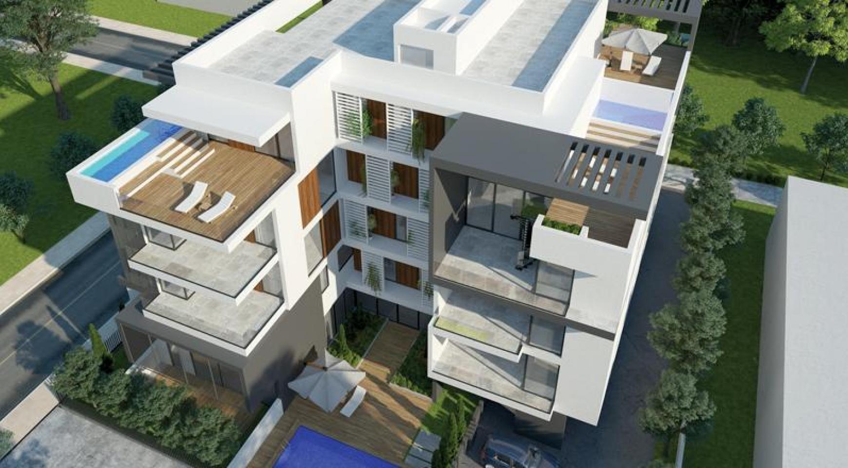 New 2 Bedroom Apartment in a Contemporary Complex near the Sea - 1