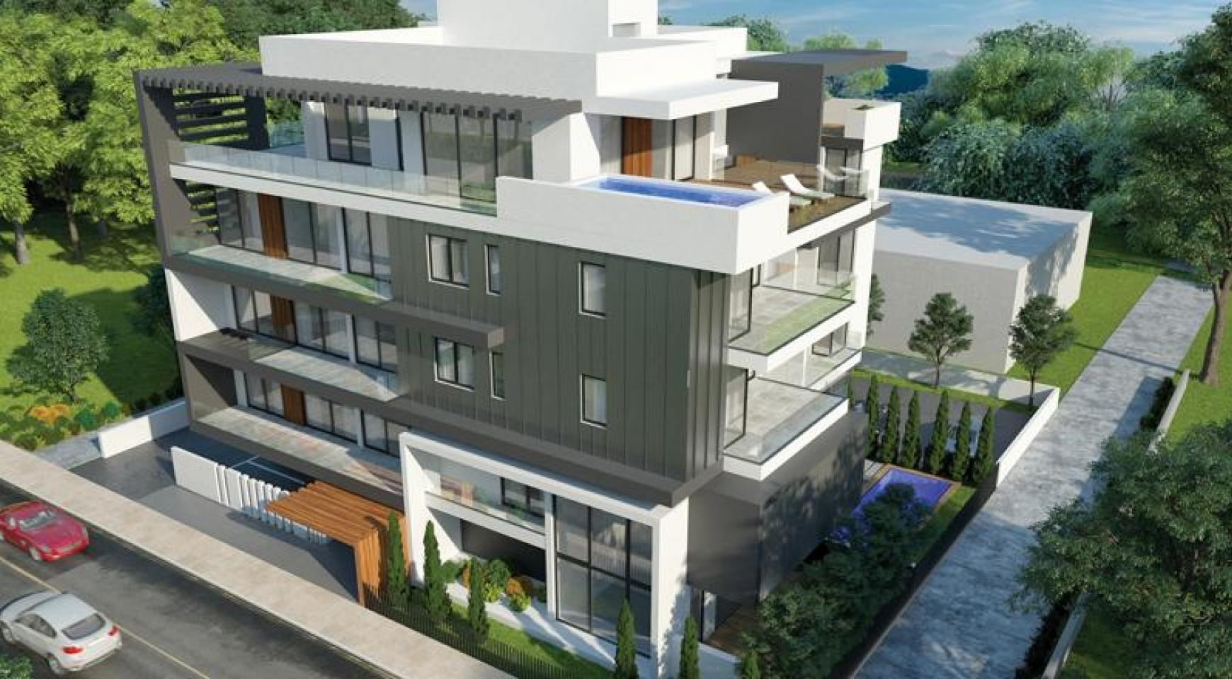 New 2 Bedroom Apartment with Roof Garden in a Contemporary Complex  - 2