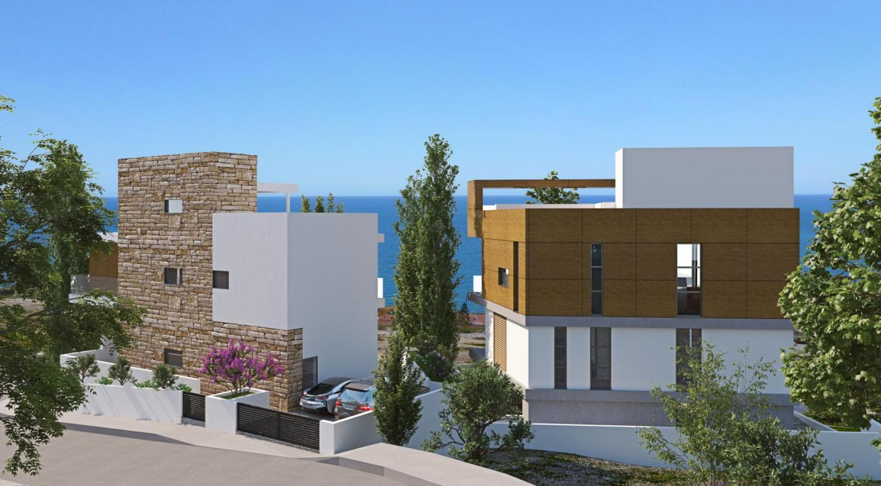 Luxury 4 Bedroom Villa with Sea Views in Amathus Area - 3