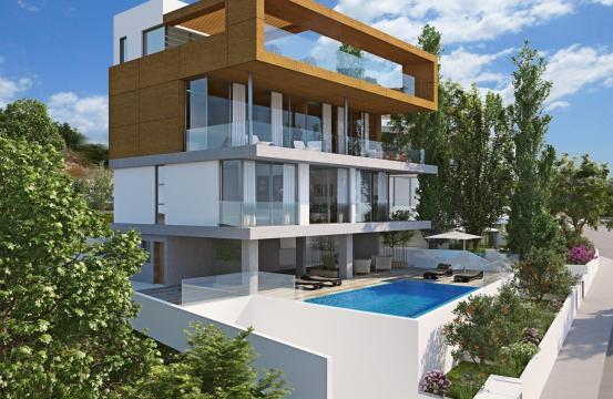 Luxury 4 Bedroom Villa with Sea Views in Amathus Area