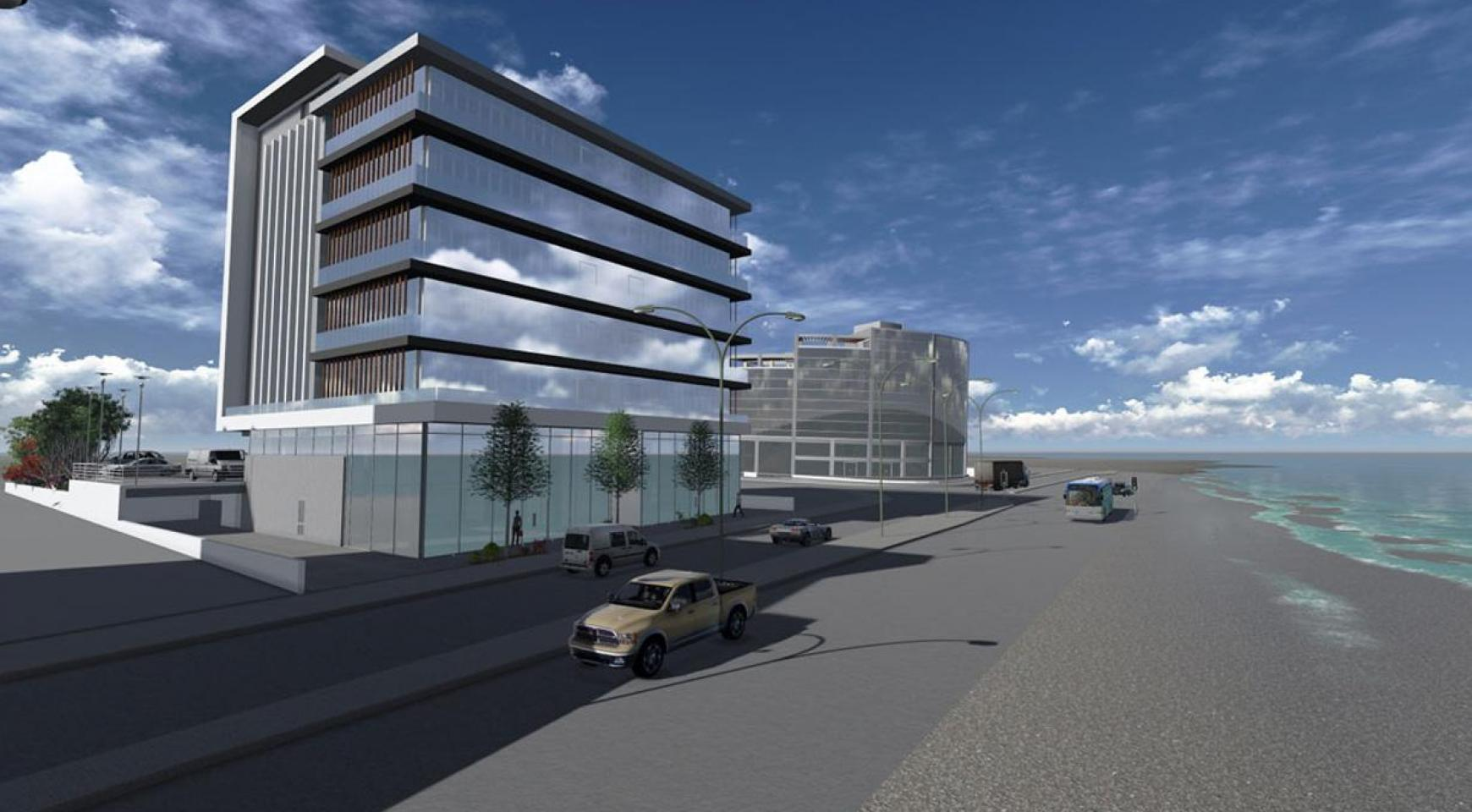 New Luxury Office in a Prime Seafront Location  - 1