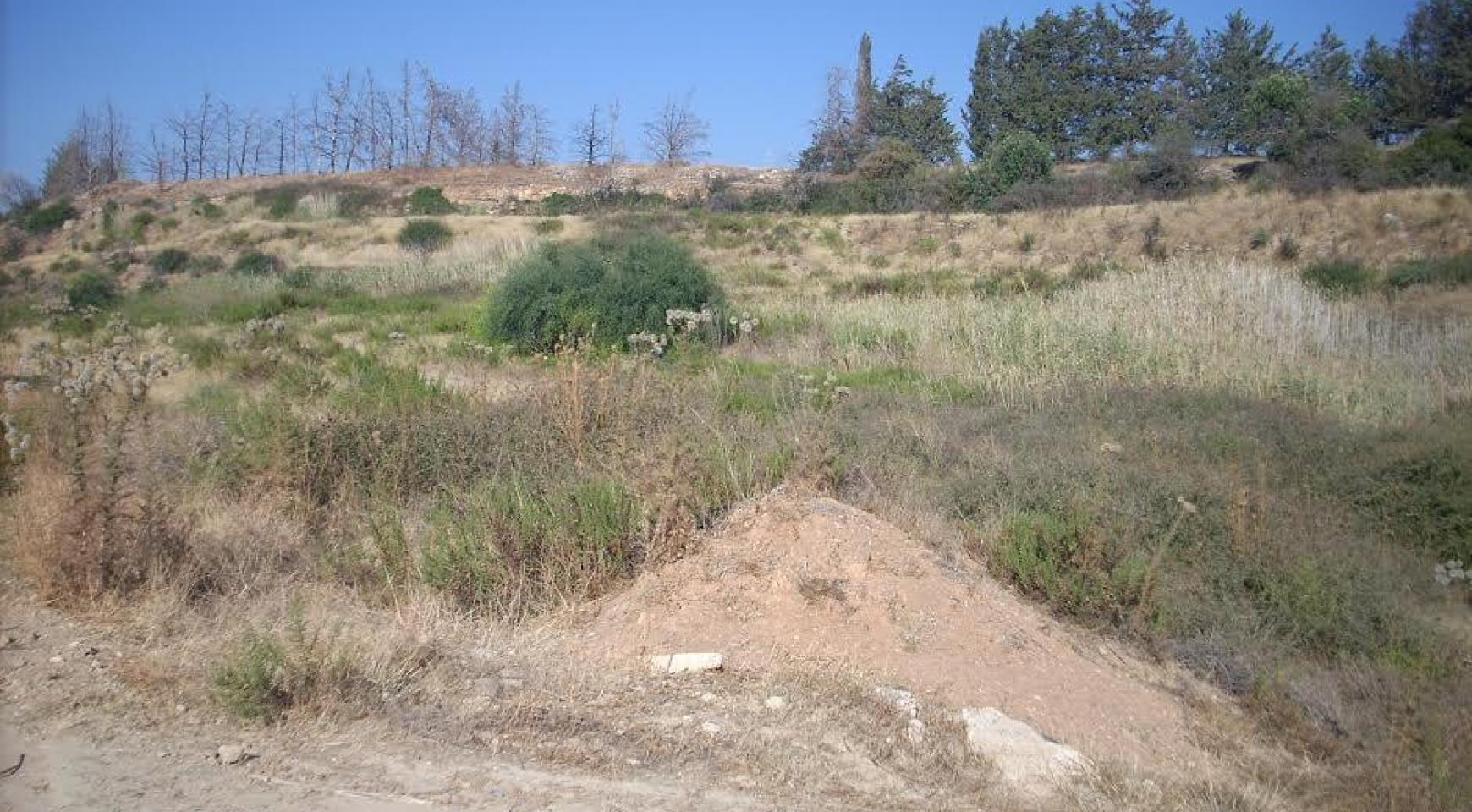 Large Building Plot with Sea Views in Kouklia - 2