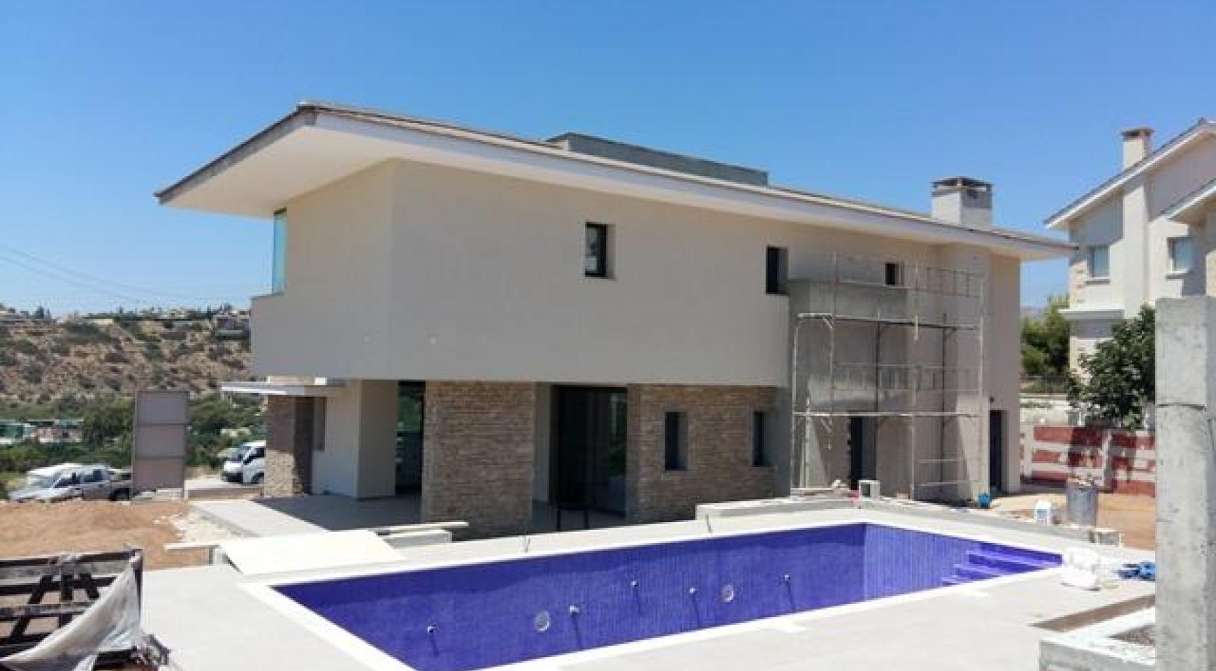 New Luxury 4 Bedroom Villa with Sea Views in Mesovounia - 3