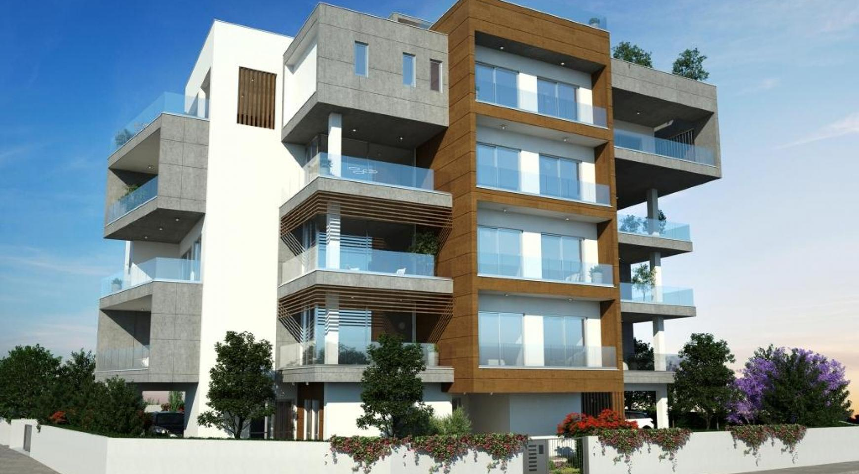 New Modern 3 Bedroom Apartment in Mesa Geitonia - 3