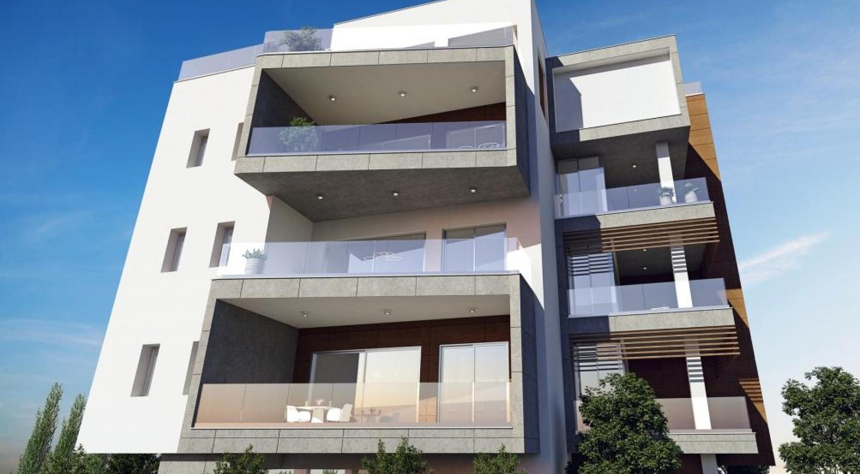 New Modern 3 Bedroom Apartment in Mesa Geitonia - 4