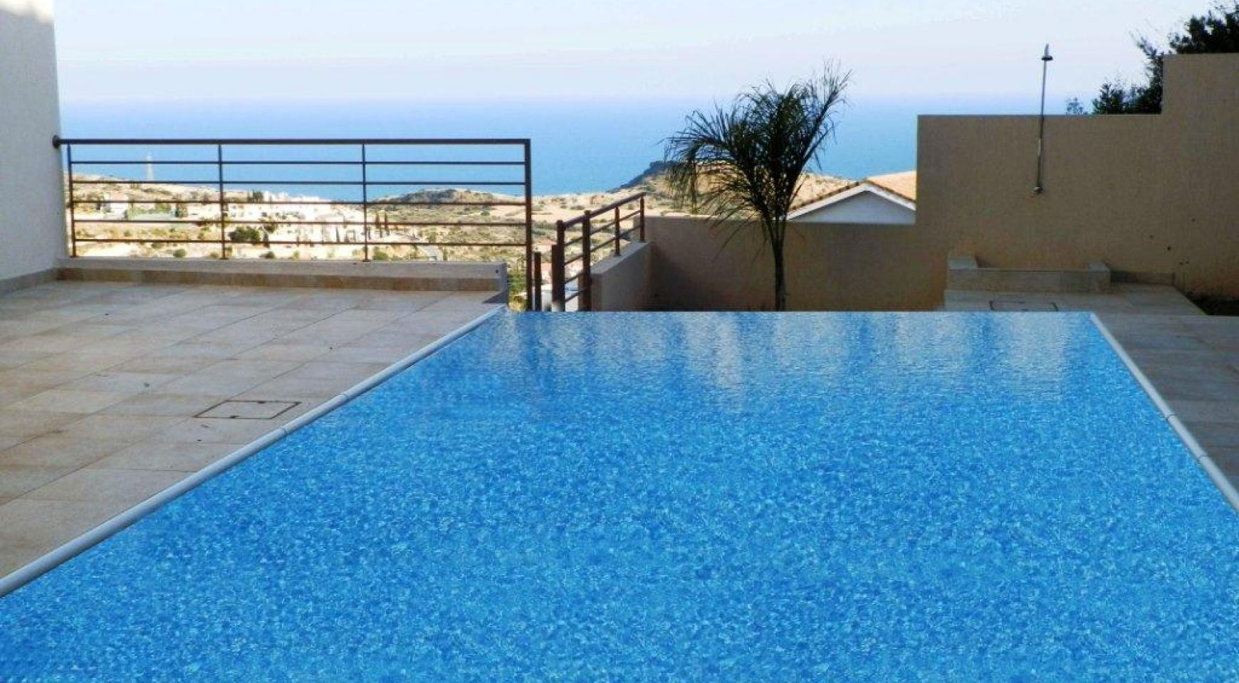 Luxury 4 Bedroom Villa with Stunning Sea Views in Agios Tychonas - 4