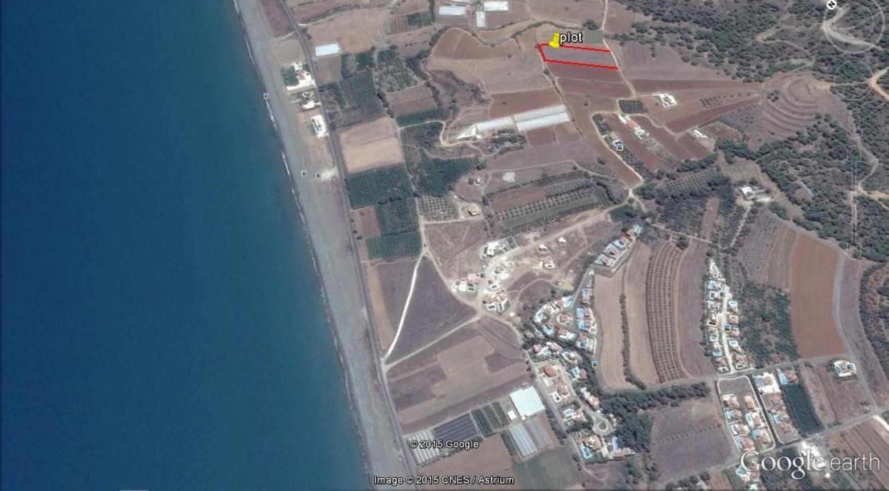 Large Building Plot near the Sea in Gialia Area - 1