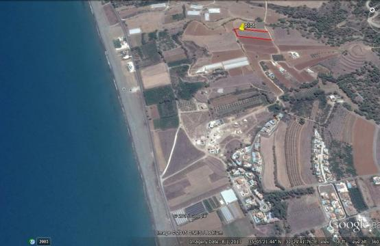 Large Building Plot near the Sea in Gialia Area