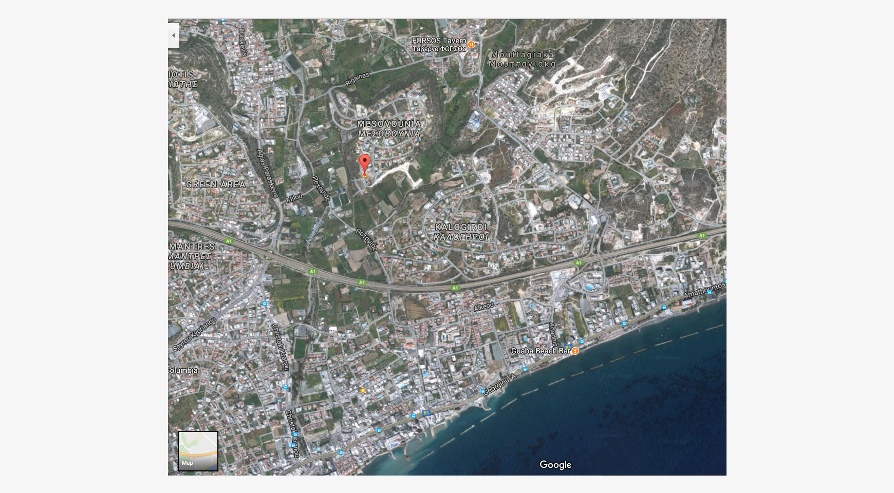 Large Building Plot with Unobstructed Sea Views in Mesovounia - 3