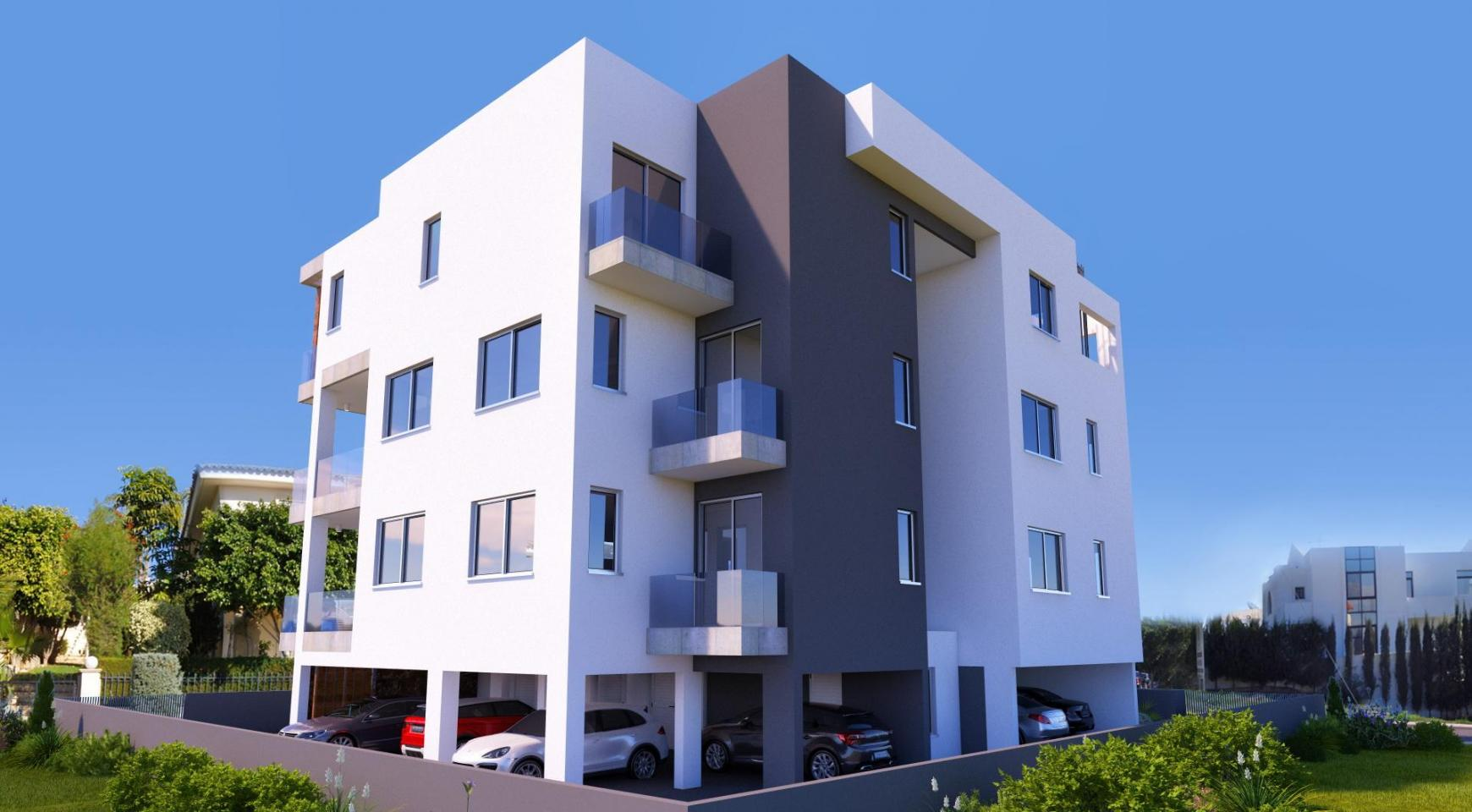 New 2 Bedroom Apartment in a Contemporary Building in Potamos Germasogeia - 4