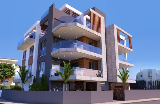 New 2 Bedroom Apartment in a Contemporary Building in Potamos Germasogeia