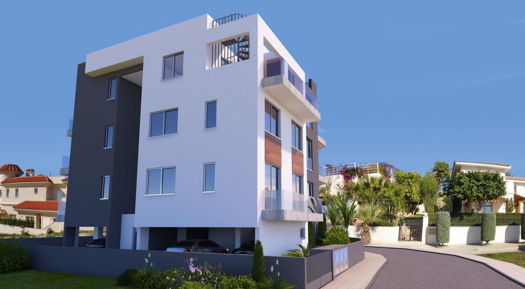 New 3 Bedroom Apartment in a Contemporay Building in Potamos Germasogeia - 4