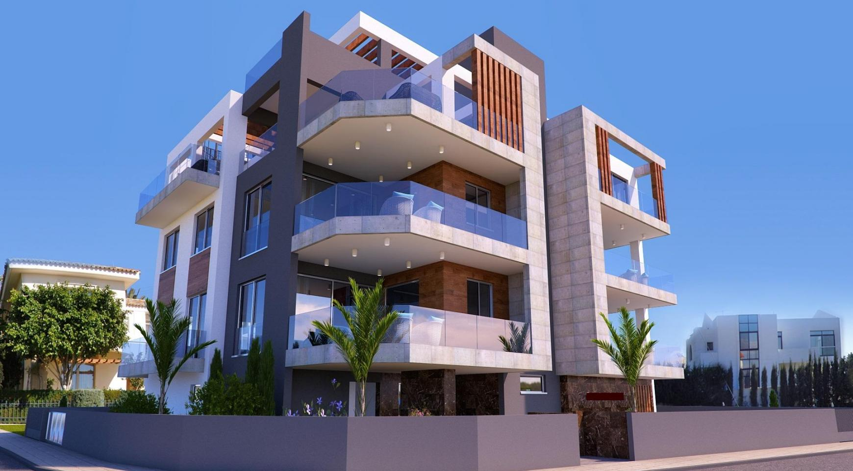 New 3 Bedroom Apartment in a Contemporay Building in Potamos Germasogeia - 1