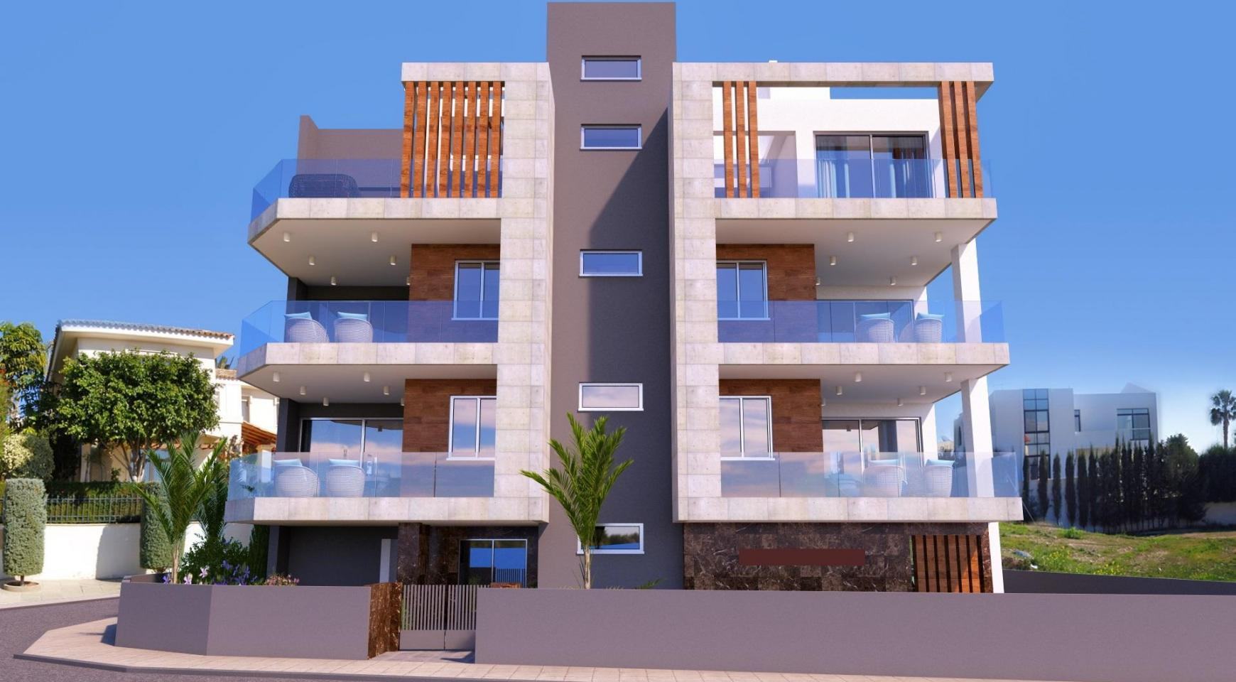 New 3 Bedroom Apartment in a Contemporay Building in Potamos Germasogeia - 2