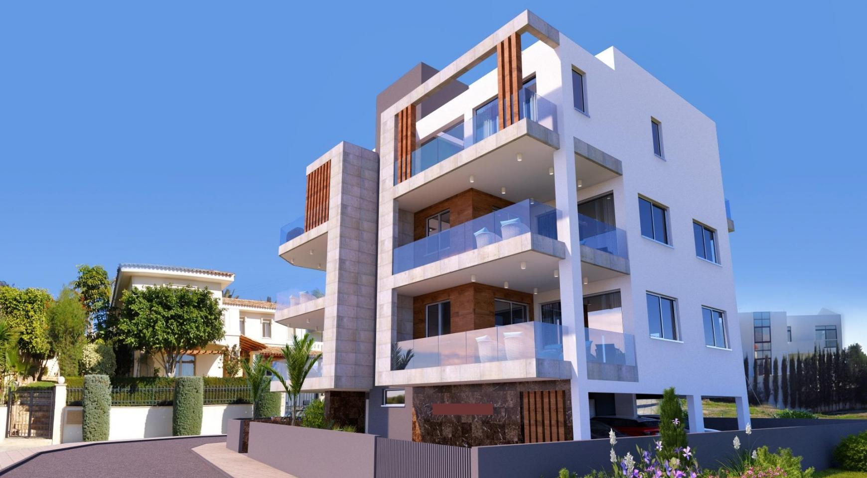 New 3 Bedroom Apartment in a Contemporay Building in Potamos Germasogeia - 3