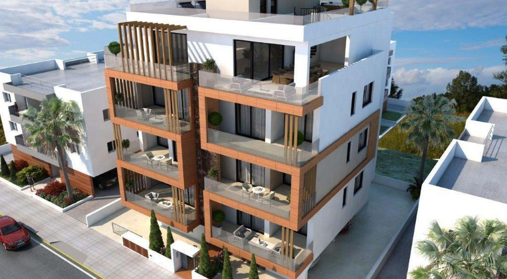 New 3 Bedroom Penthouse with Sea Views in Enaerios Area - 1