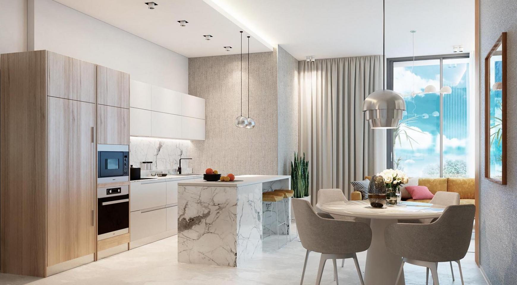 Contemporary 2 Bedroom Apartment in a New Complex near the Sea - 1