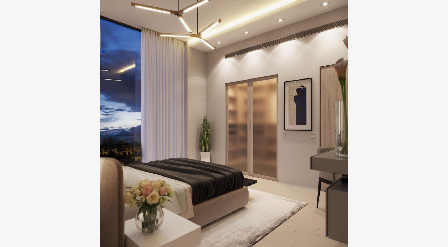 Contemporary 2 Bedroom Apartment in a New Complex near the Sea - 4