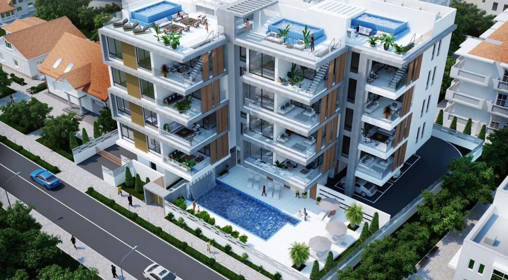 Contemporary 2 Bedroom Apartment in a New Complex near the Sea - 8