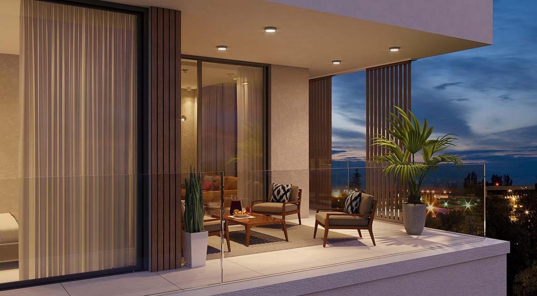 Contemporary 3 Bedroom Apartment in a New Complex near the Sea - 8