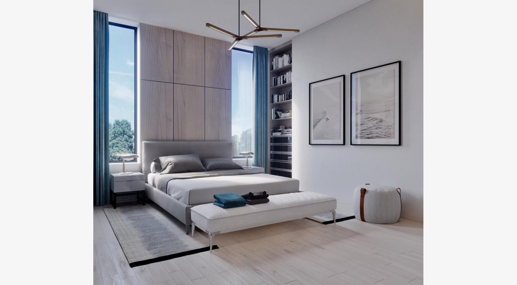 Contemporary 3 Bedroom Apartment in a New Complex near the Sea - 5