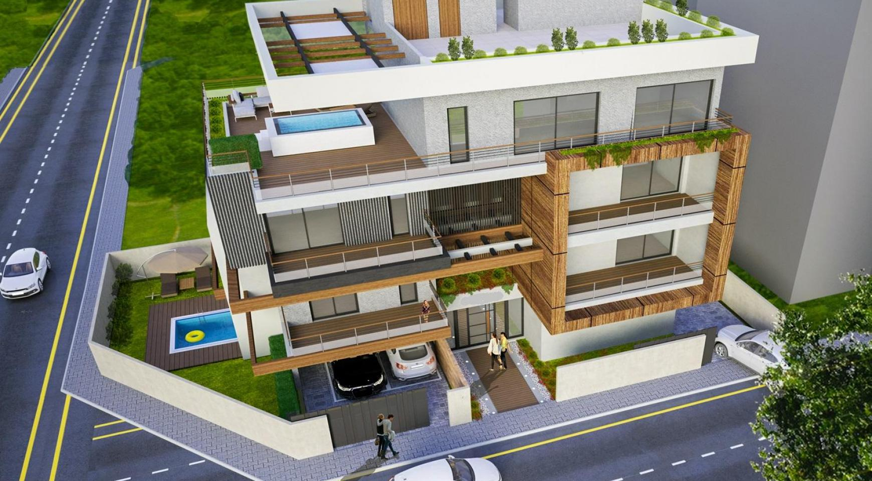 New 2 Bedroom Apartment in a Modern Building in Columbia Area - 3