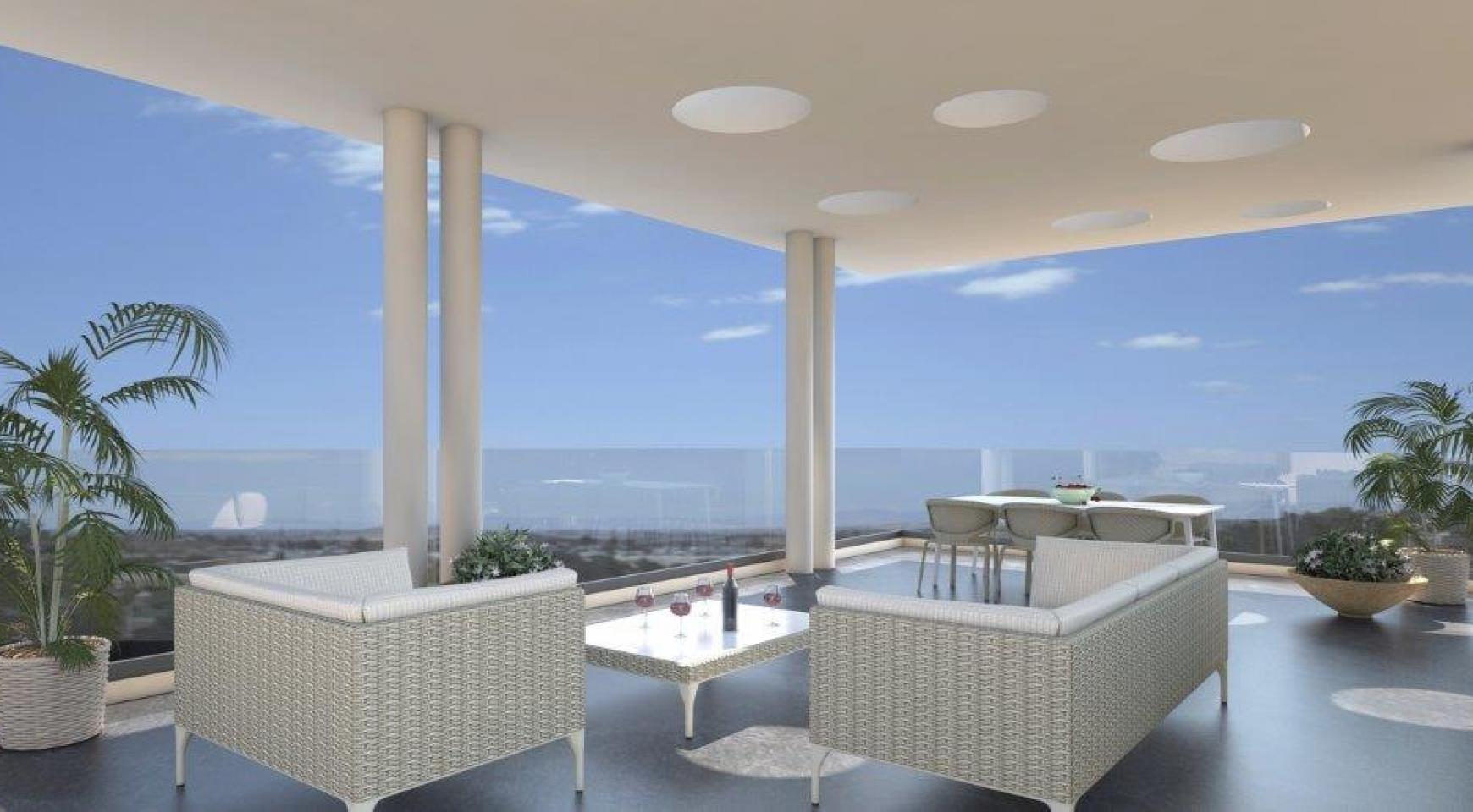 Modern 3 Bedroom Penthouse in a New Building in the City Centre - 1