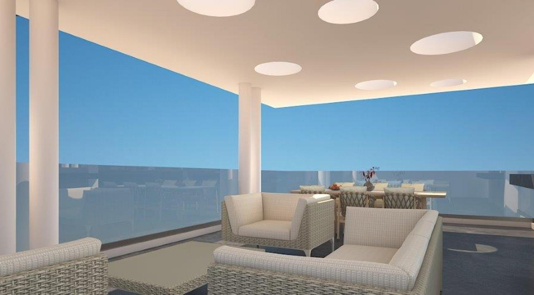 Modern 3 Bedroom Penthouse in a New Building in the City Centre - 2