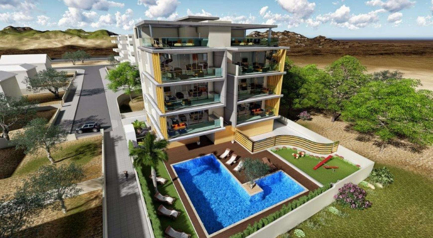 New 3 Bedroom Apartment in Agios Tychonas Area - 2