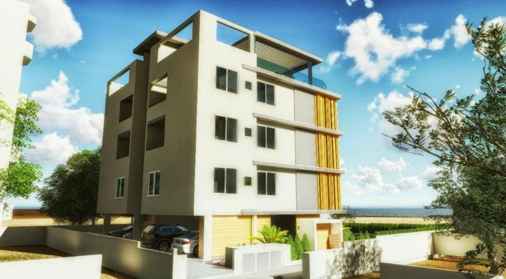 New 3 Bedroom Apartment in Agios Tychonas Area - 10