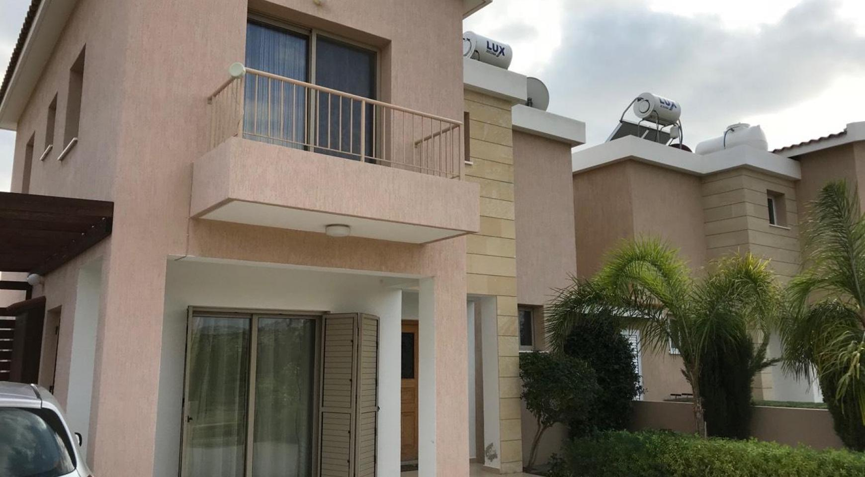 3 Bedroom Semi-Detached House with the Swimming Pool in Erimi Village - 1