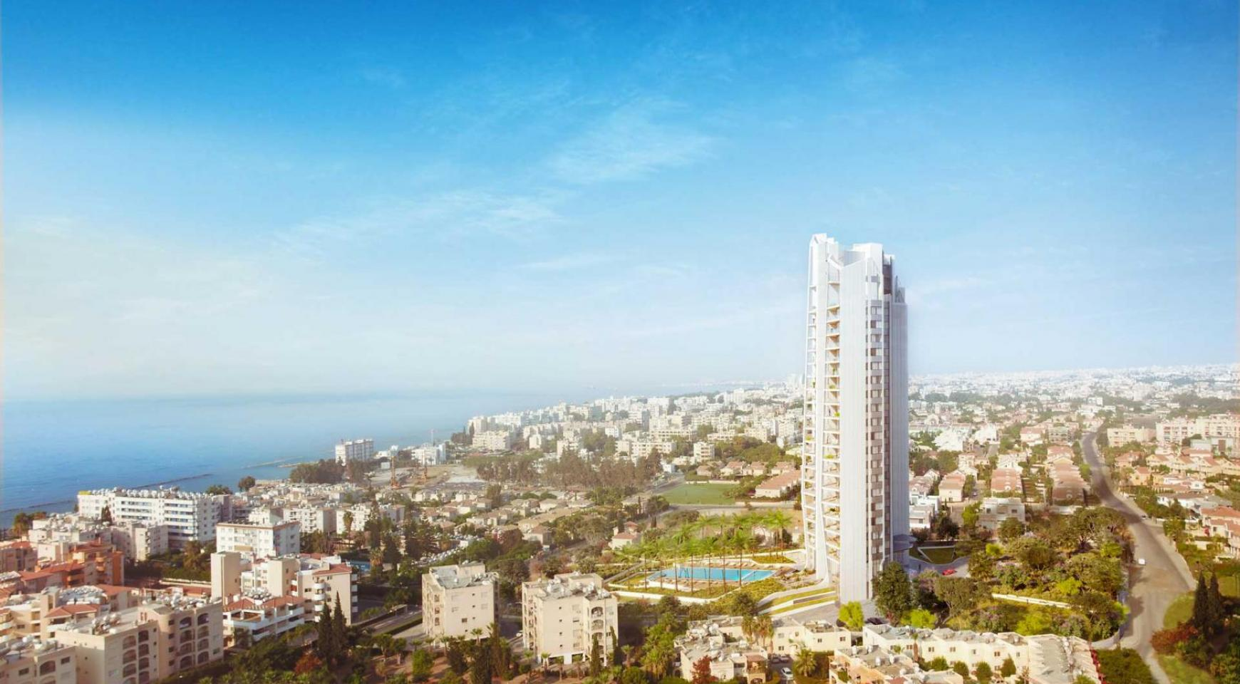 Sky Tower. Modern Spacious One Bedroom Apartment 302 near the Sea  - 10