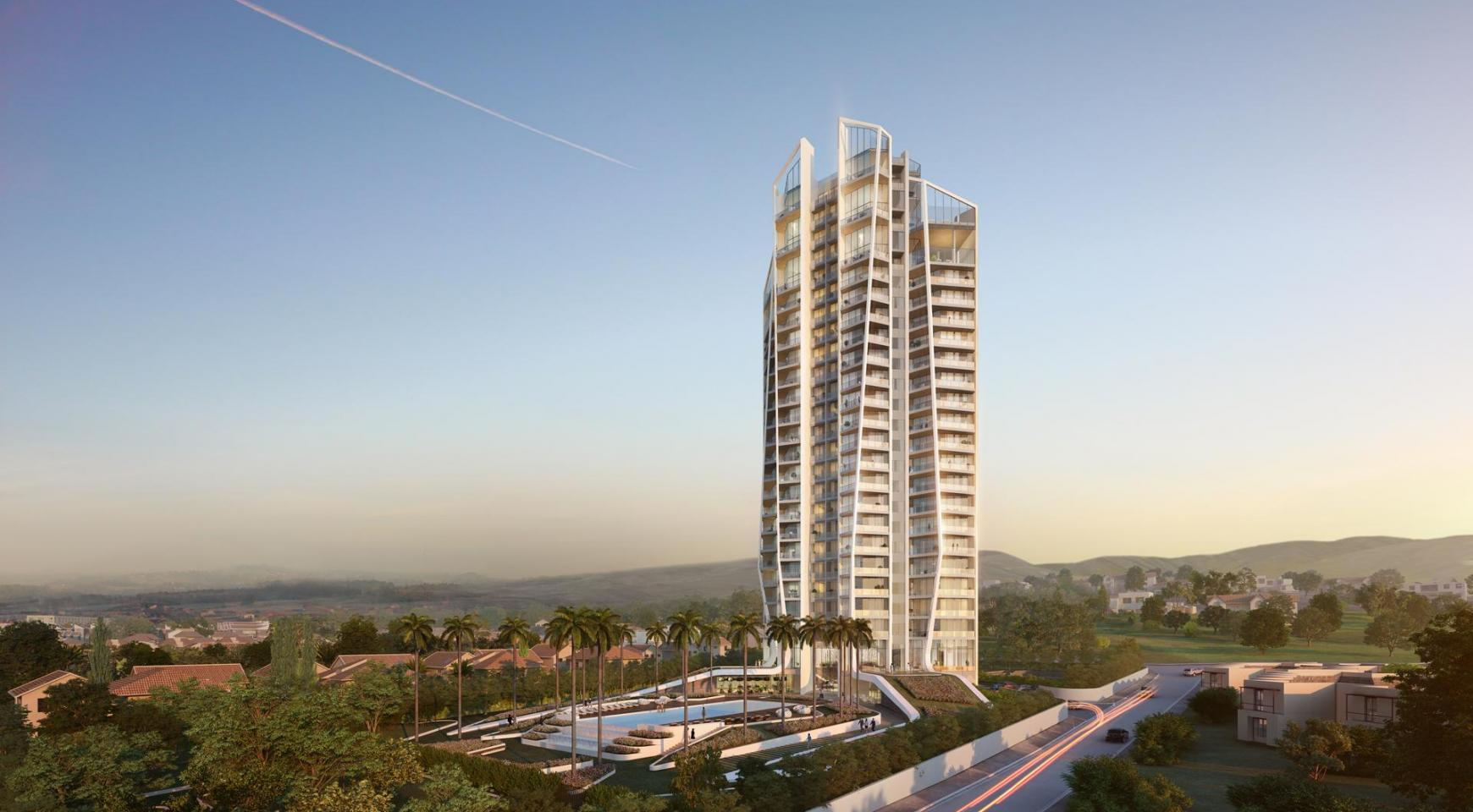 Sky Tower. Modern Spacious One Bedroom Apartment 302 near the Sea  - 13