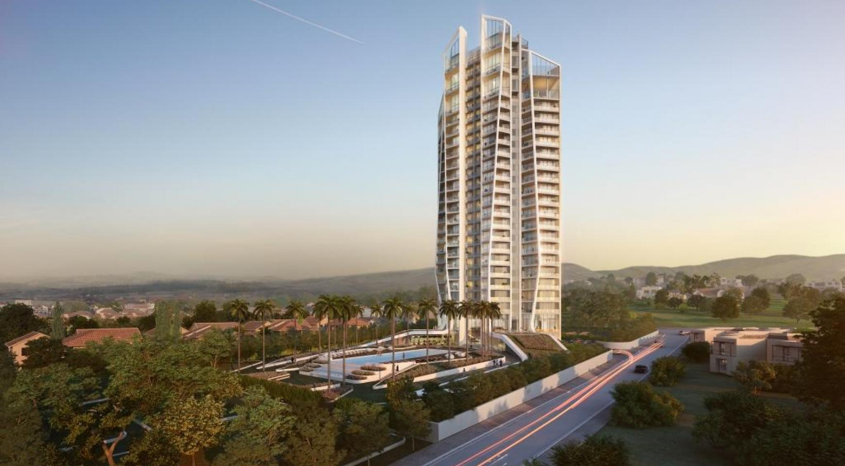 Sky Tower. Modern Spacious One Bedroom Apartment 302 near the Sea  - 7